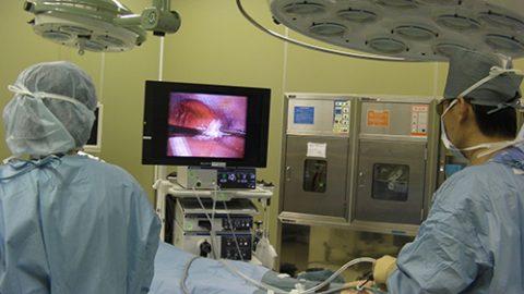 3D(立体画像)で行う内視鏡外科手術